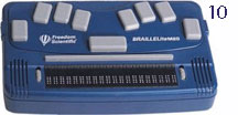 10.Braille Lite M20 - Photo courtesy of Freedom Scientific