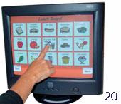 20.Touchscreen - Photo courtesy of Mayer Johnson